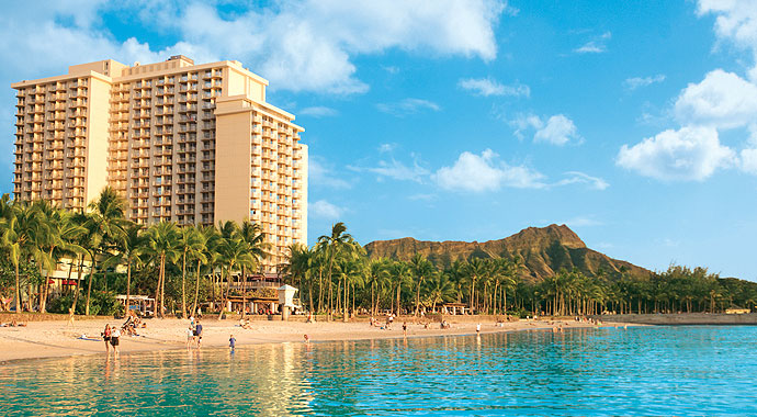 Hawaiian Waikiki Beach Hotel Honolulu